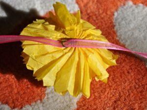 цветы из салфеток своими руками_8