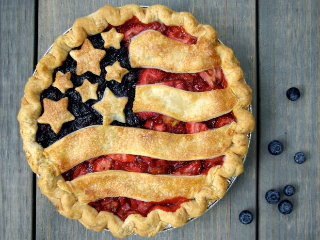 Америка -яблочный пирог