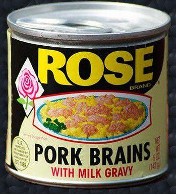 Свиные мозги
