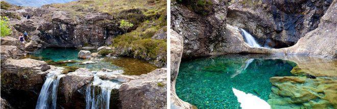 Волшебные бассейны, остров Скай