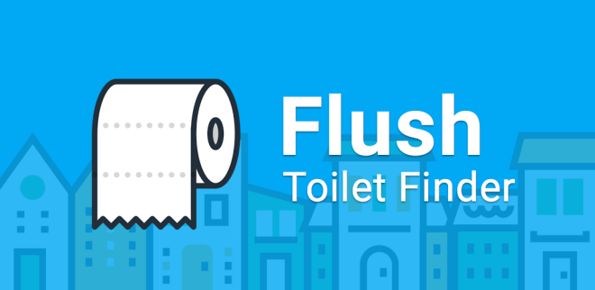 Flush - toilet <p>finder