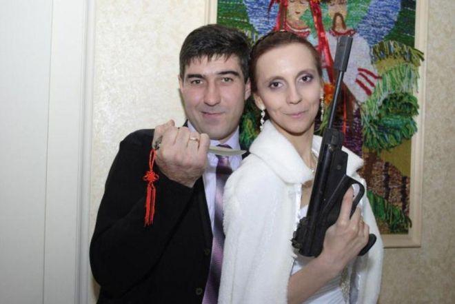 Фото с оружием