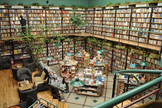 Книжный магазин в Мехико