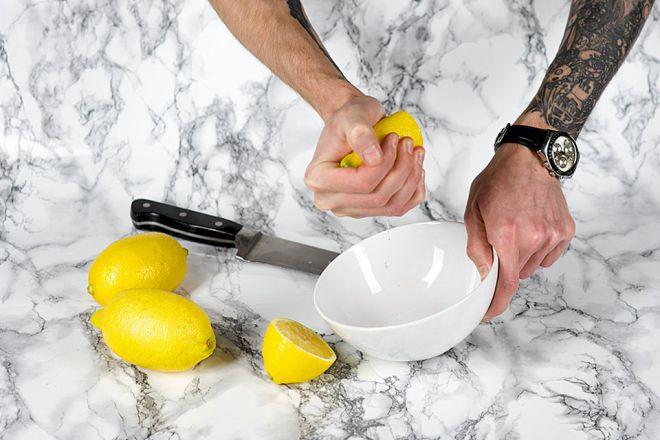 лимон правильно