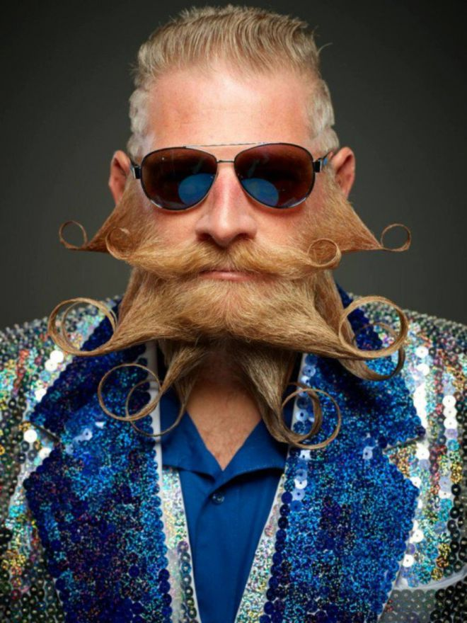 20 безумных бородачей с конкурса «The World Beard And