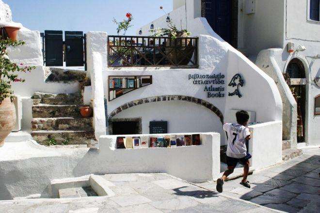 Книжный магазин в Санторини