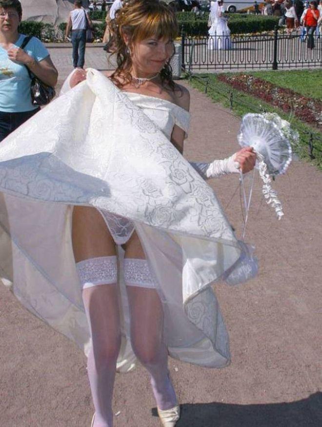этом наши фото невест под юбками клетки при онкологии