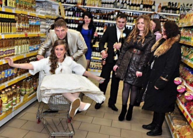 праздновать в магазине