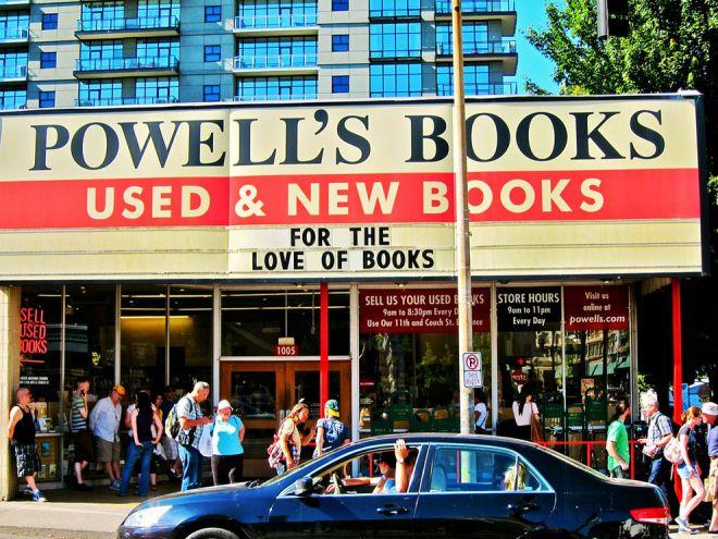 Книжный магазин в Орегоне
