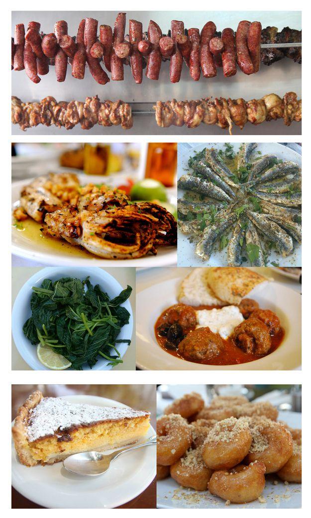 Грецкие блюда