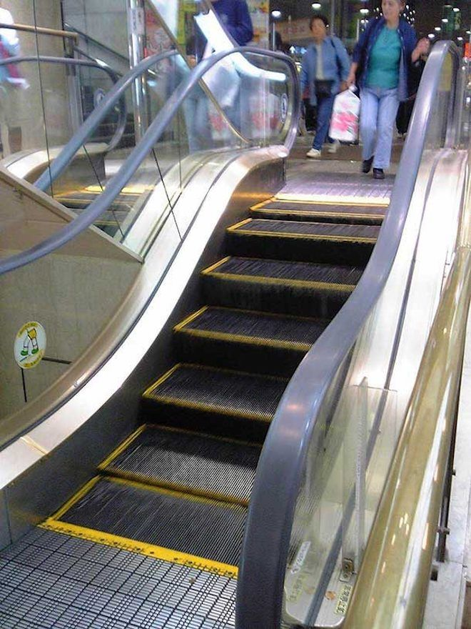 Мини-эскалатор