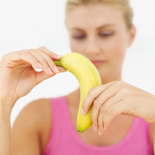 банан неправильно