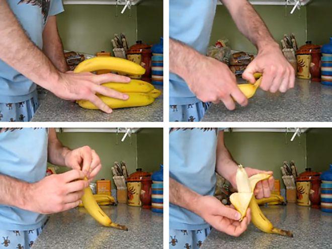 банан правильно