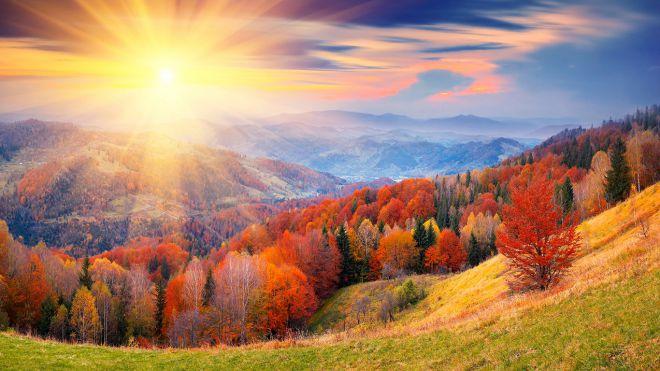 Горы Карпаты, Украина