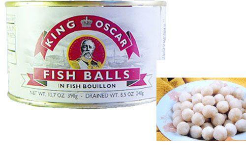 Рыбные шарики
