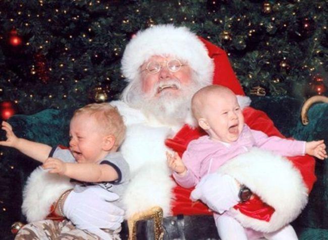 Похоже, Санта и свое желание исполнить не может!