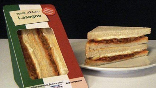 Сендвич лазанья