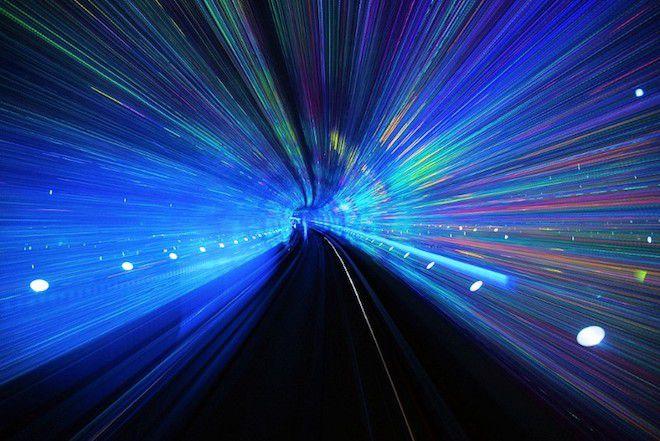 Светящийся туннель