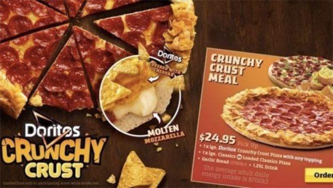 Пицца с доритос
