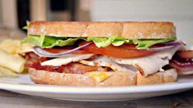бутерброд неправильно