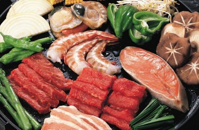 Мясо, птица и морепродукты