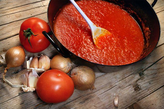 Томатная паста содержит транс жиры