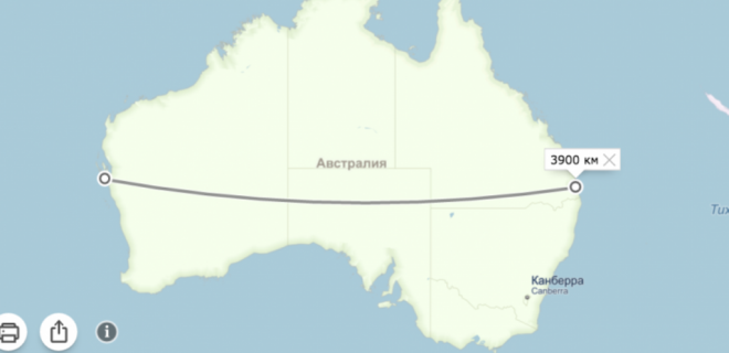 Ширина Австралии