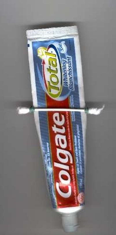 Выжиматель для зубной пасты