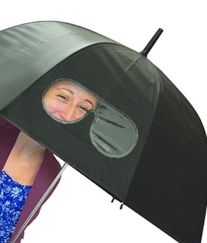 Зонт с очками