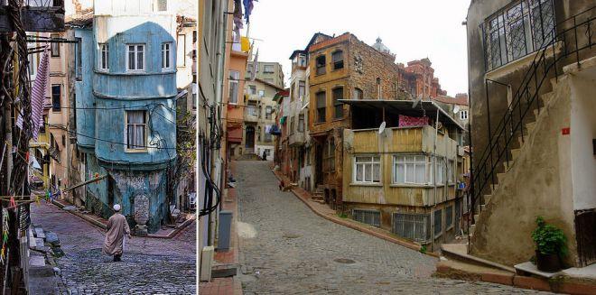 Улицы и здания Фенера