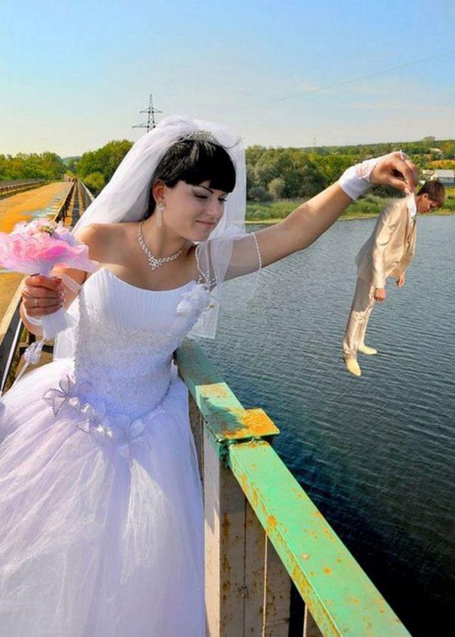 это в день свадьбы