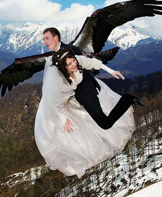 русский свадебный фотошоп