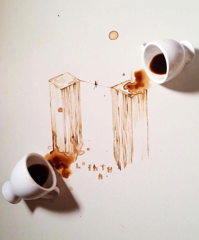 целая история в кофейных