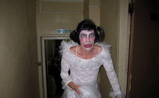 день свадьбы и Хэллоуин