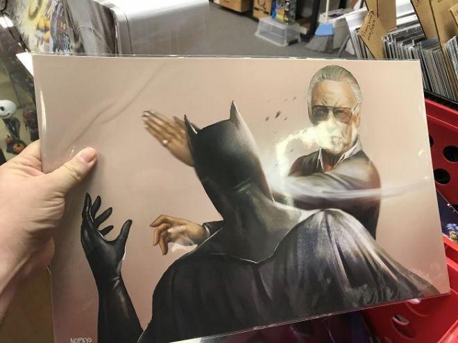 Картина с Бэтменом