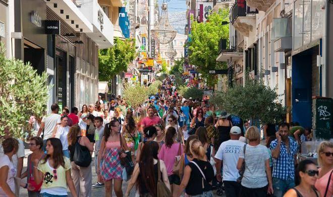 Грецию посетило 20 000 000 туристов
