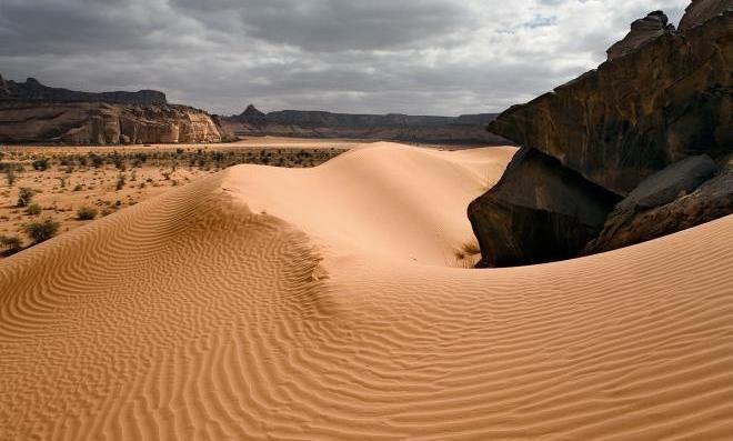 90% пустыни находится в Ливии