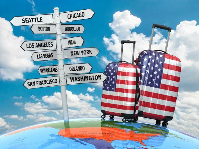Каждая восьмая работа в США связана с туризмом и путешествиями