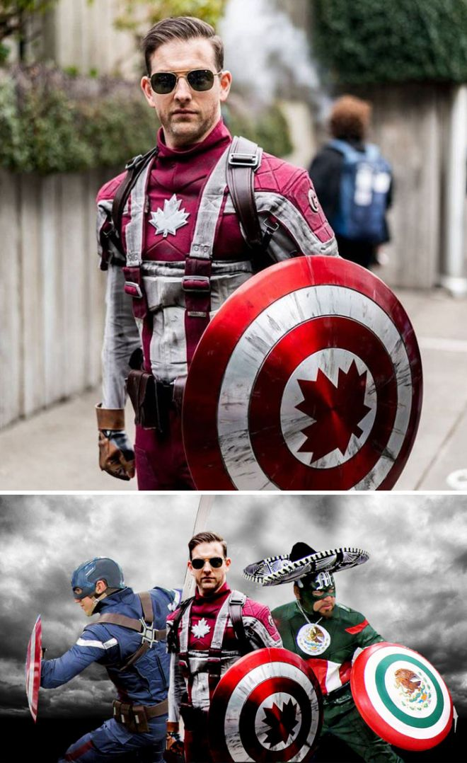 Канадский супергерой