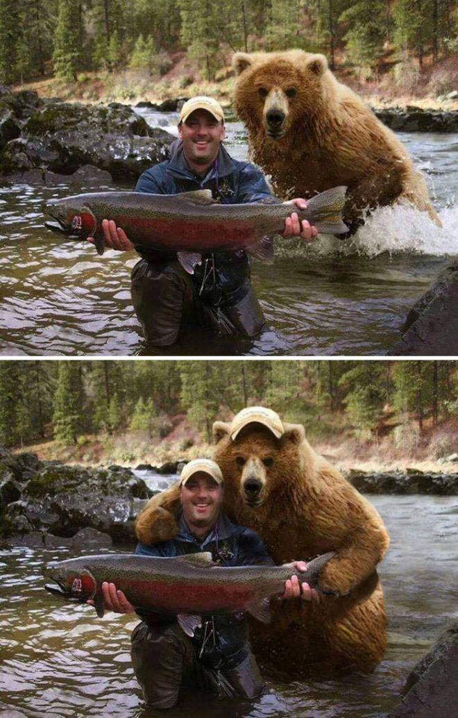 Мужчина с рыбой