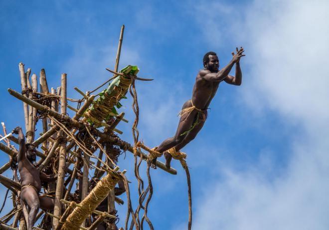 На острове Вануату