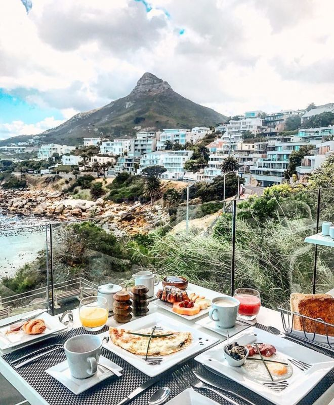 Завтрак в Кейптауне
