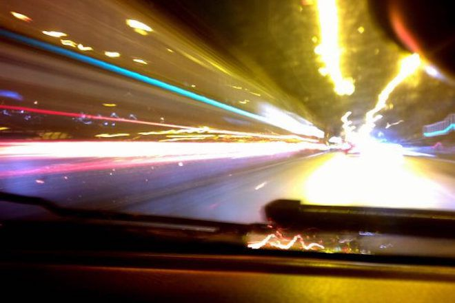 Фото дороги из авто