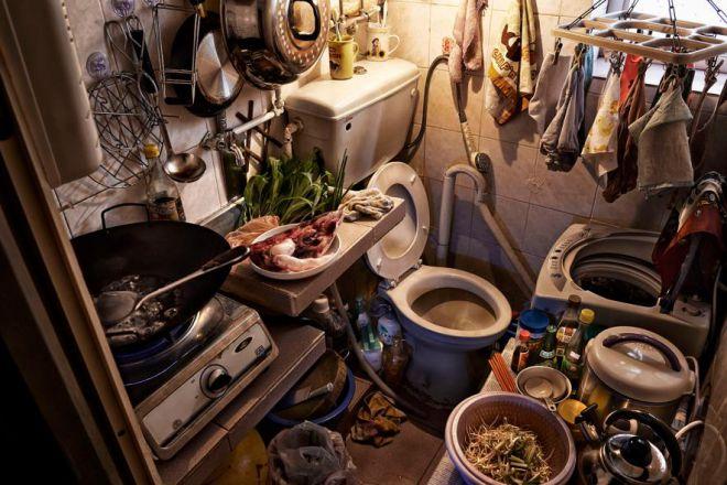 Туалет и кухня