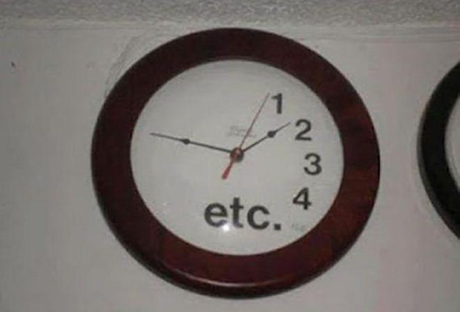 Часы с неполным циферблатом