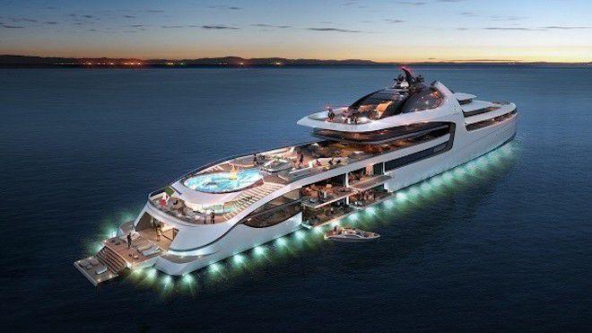 Яхта на миллиард