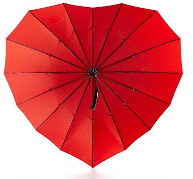 Зонт-сердечко