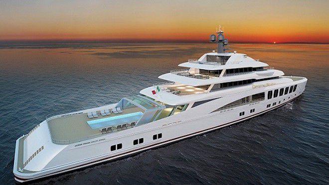Уникальная яхта