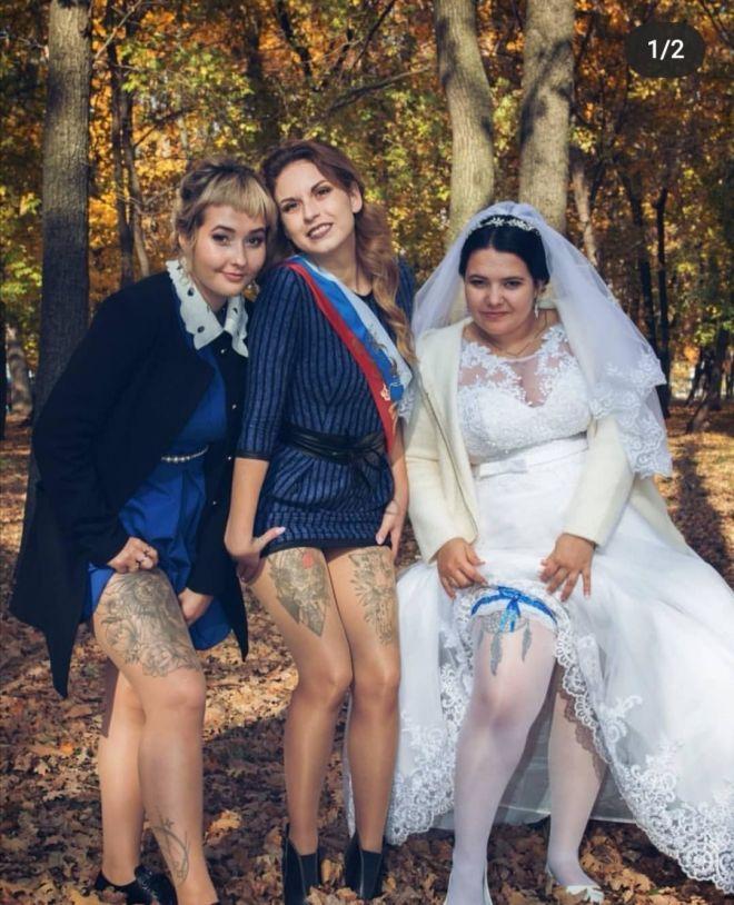 Русскую свадьбу умом не понять: 25 «угарных» фотографий  - Страница 2 23novaya_tradiciya