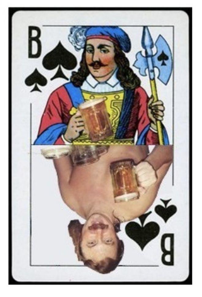 выпил за любовь